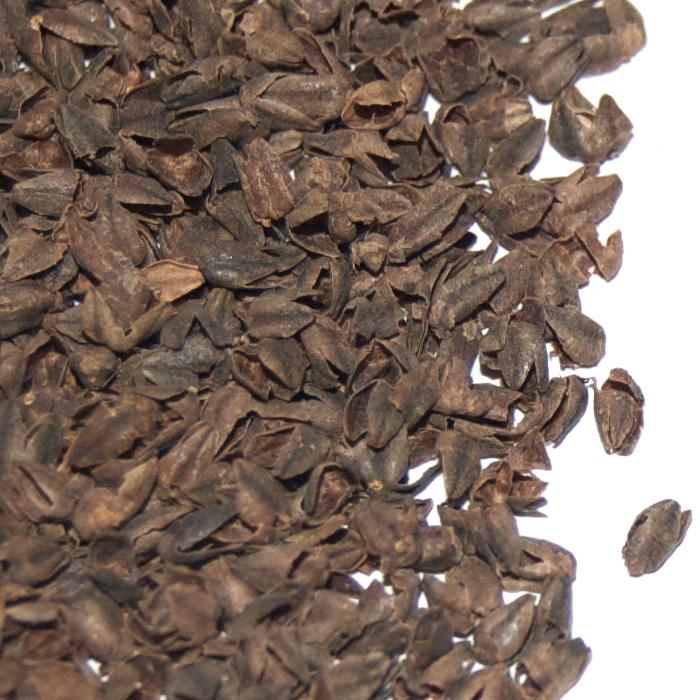 organic buckwheat hulls - sample #1
