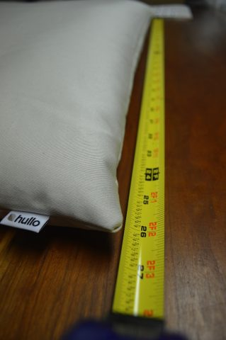 Buckwheat Pillow Sizes