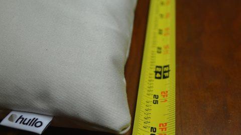 Standard pillow size