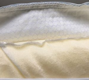 Memory foam pillow with PCM case
